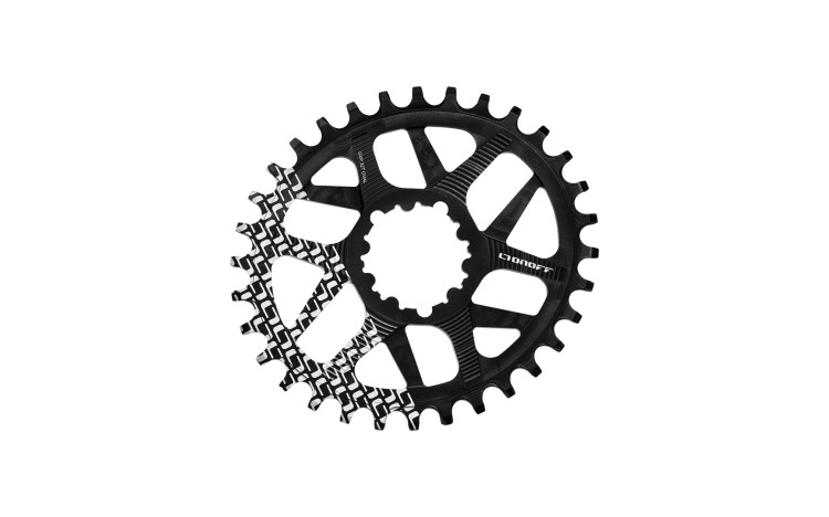 CHAINRING OVAL (104BCD)