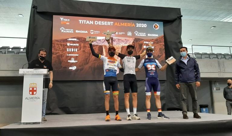 ¡David Arroyo y 'Quillo' Márquez podiums en la Titan Desert!