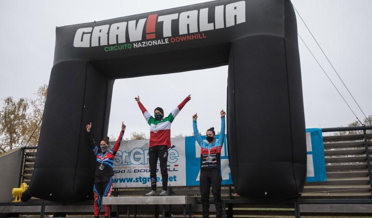 ¡Eleonora de nuevo campeona de Italia en DH!