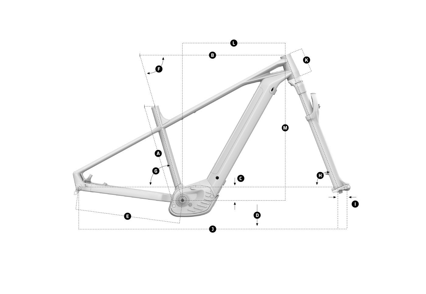 Mondraker Prime + 2022 Bike Geometry