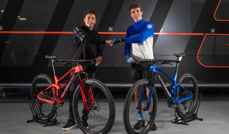 Motorcycle champions Marc and Alex Márquez join Mondraker