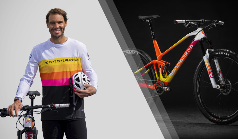 RAFA NADAL TO ENJOY CYCLING ON A MONDRAKER!